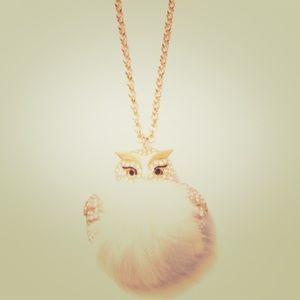 Kate spade star bright owl pendant